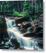 Middle Fork Red River Falls Metal Print