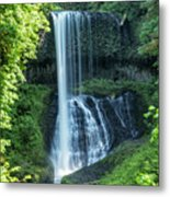 Middle North Falls Metal Print