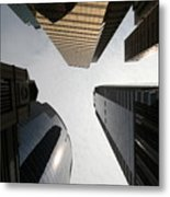 Middle Of The City Metal Print