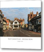 Middle Row East Grinstead Metal Print