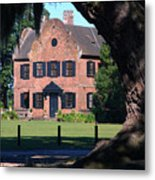 Middleton Place Plantation House Metal Print