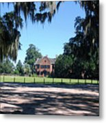 Middleton Plantation Charleston Sc Metal Print