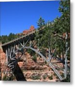 Midgley Bridge Metal Print