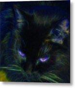Midnight Glow Metal Print