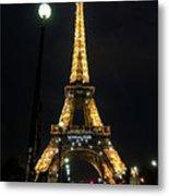 Midnight In Paris Metal Print
