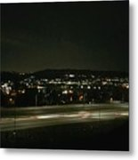 Midnight Lights Metal Print
