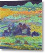 Midnight Prairie Dream Metal Print