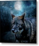 Midnight Spirit Metal Print