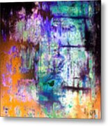 Midnight Train Goin Anywhere Metal Print