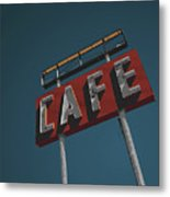 Midpoint Cafe Metal Print
