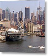 Midtown Manhattan Panorama Metal Print