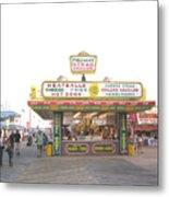 Midway Steak House - The Boardwalk At Seaside Metal Print by Bob Palmisano