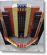 Art Deco Theater Metal Print