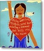 Midwives Of Standing Rock Metal Print