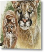 Mighty Metal Print by Barbara Keith