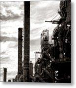 Mighty Bethlehem Steel Metal Print