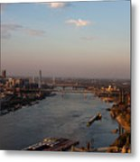 Mighty Mississippi Metal Print