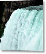 Mighty Niagara Falls Metal Print