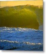 Mighty Ocean At Sunrise Metal Print