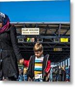 migrants in Nicklesdorf Metal Print