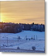 Mihari Sunset Metal Print