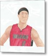 Mike Bibby Metal Print