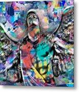 Mike Painting  Metal Print