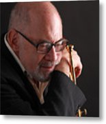 Mike Vax Professional Trumpet Player Photographic Print 3762.02 Metal Print