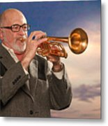 Mike Vax Professional Trumpet Player Photographic Print 3765.02 Metal Print