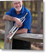 Mike Vax Professional Trumpet Player Photographic Print 3766.02 Metal Print