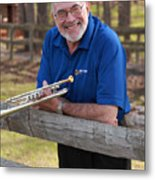 Mike Vax Professional Trumpet Player Photographic Print 3767.02 Metal Print