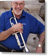 Mike Vax Professional Trumpet Player Photographic Print 3770.02 Metal Print