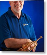 Mike Vax Professional Trumpet Player Photographic Print 3771.02 Metal Print