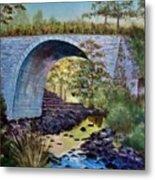 Mike's Keystone Bridge Metal Print
