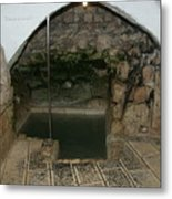Mikvah - Ritual Pool - Of The Arizal Metal Print
