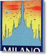 Milan Cathedral, Italy Metal Print