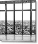 Milan Skyline Metal Print