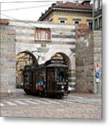 Milan Trolley 5 Metal Print