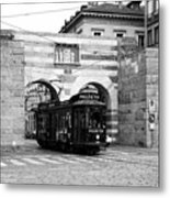 Milan Trolley 5b Metal Print