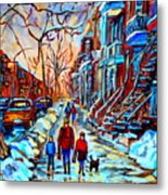 Mile End Montreal Neighborhoods Metal Print