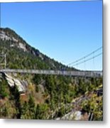 Mile-high Bridge Metal Print