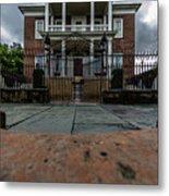 Miles Brewton House Circa 1765 Metal Print