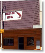 Miles City, Montana - Downtown Metal Print