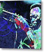 Miles Jazz Metal Print