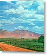 Miles To Go Metal Print