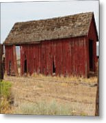 Milford Outbuilding 4 Metal Print