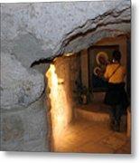 Milk Grotto Church Metal Print