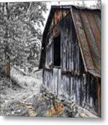 Milking Barn Metal Print