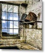 Milking Room Metal Print