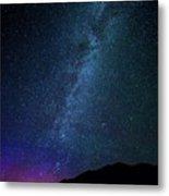 Milky Way Galaxy After Sunset Metal Print
